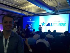 Auditório e início das palestras no All Stars Summit